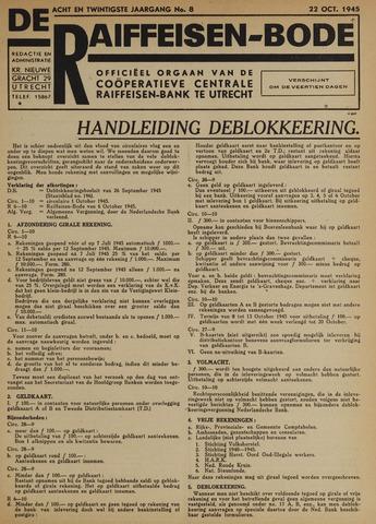 blad 'De Raiffeisen-bode' (CCRB) 1945-10-22