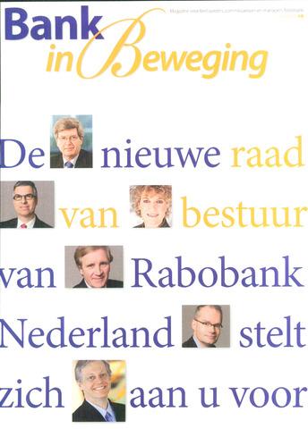blad 'Bank in Beweging' 2009-06-01