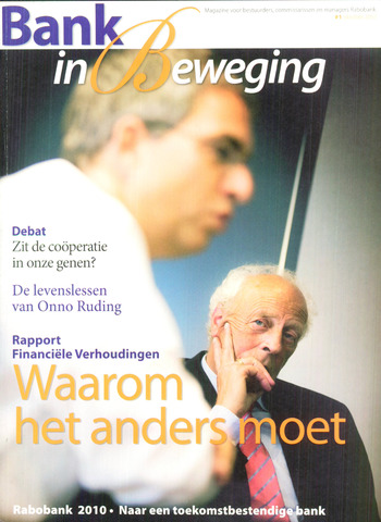 blad 'Bank in Beweging' 2007-10-01