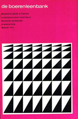 blad 'de boerenleenbank' (CCB) 1971-03-01