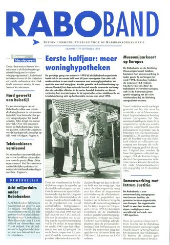 blad 'Raboband' 1994-09-05