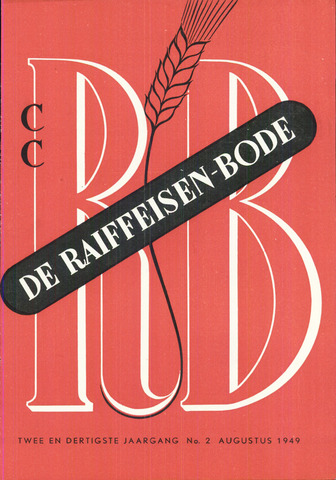 blad 'De Raiffeisen-bode' (CCRB) 1949-08-01