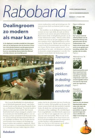 blad 'Raboband' 1995-03-27