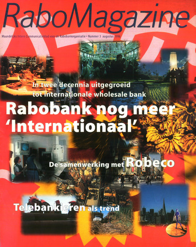 blad 'RaboMagazine' 1996-08-01