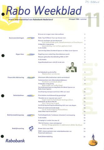 Rabo Weekblad 1996-03-14