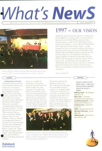 blad 'What's news' (EN) 1997