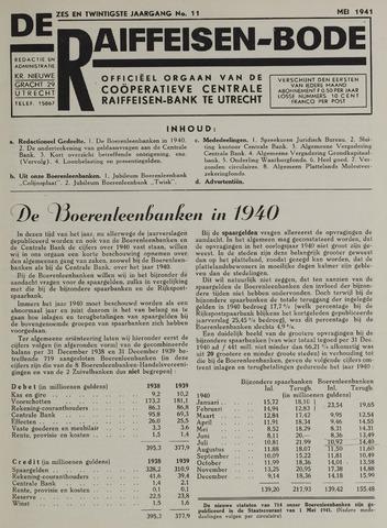 blad 'De Raiffeisen-bode' (CCRB) 1941-05-01