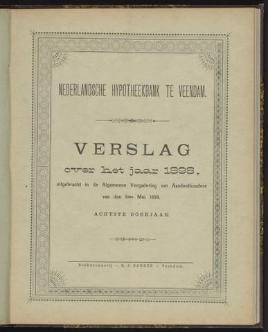 Jaarverslagen Nederlandsche Hypotheekbank 1898