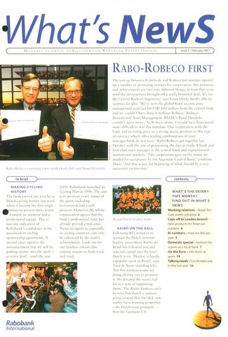 blad 'What's news' (EN) 1997-02-01