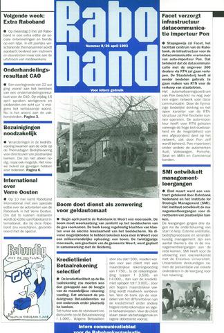 blad 'Raboband' 1993-04-26