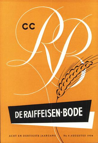 blad 'De Raiffeisen-bode' (CCRB) 1956-08-01