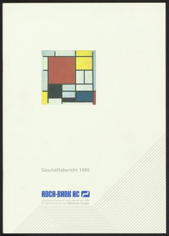 Geschäftsberichte Allgemeine Deutsche Credit-Anstalt / ADCA Bank 1990-01-01