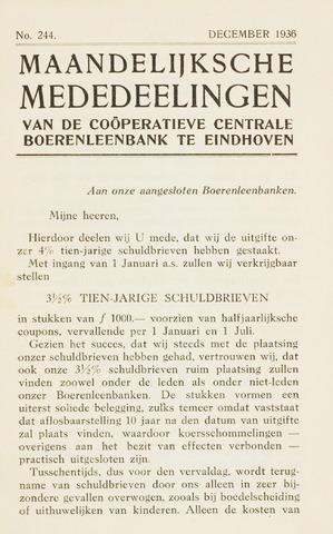 blad 'Maandelijkse Mededelingen' (CCB) 1936-12-01