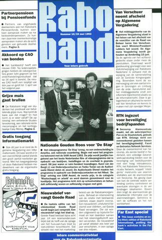 blad 'Raboband' 1993-05-24