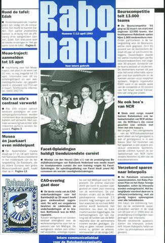 blad 'Raboband' 1993-04-13