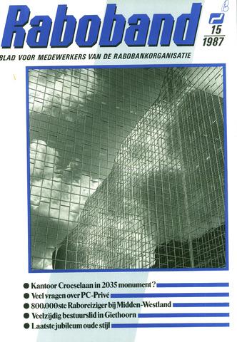 blad 'Raboband' 1987-11-04