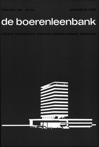 blad 'de boerenleenbank' (CCB) 1964-02-01