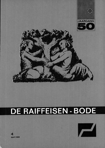 blad 'De Raiffeisen-bode' (CCRB) 1968-04-01