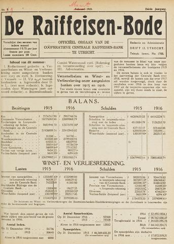 blad 'De Raiffeisen-bode' (CCRB) 1918-03-01
