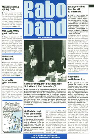 blad 'Raboband' 1991-01-28