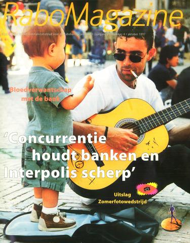 blad 'RaboMagazine' 1997-10-01