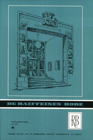 blad 'De Raiffeisen-bode' (CCRB) 1961-05-01