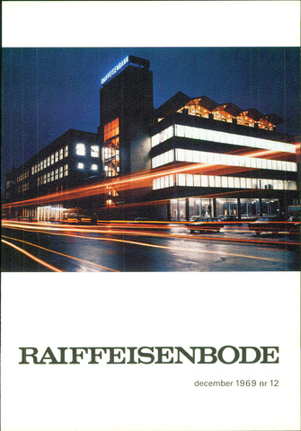 blad 'De Raiffeisen-bode' (CCRB) 1969-12-01