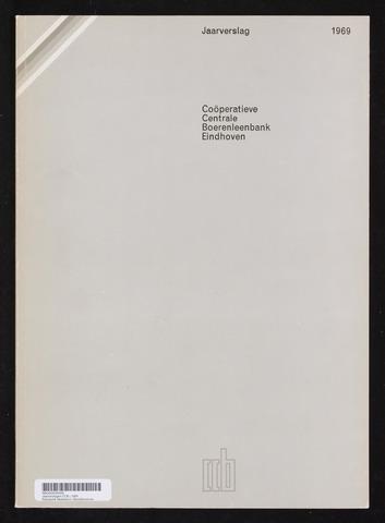 Jaarverslagen Coöperatieve Centrale Boerenleenbank 1969