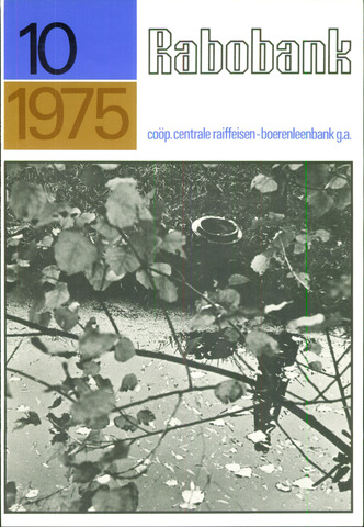blad 'Rabobank' 1975-10-01