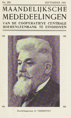 blad 'Maandelijkse Mededelingen' (CCB) 1941-09-01