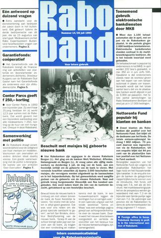 blad 'Raboband' 1993-07-26