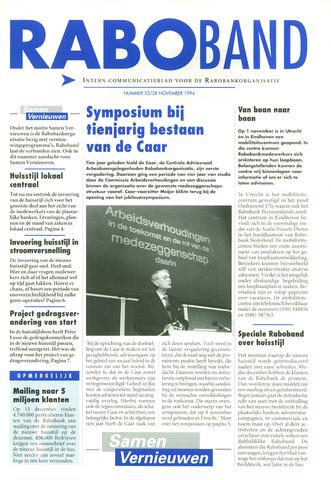 blad 'Raboband' 1994-11-28