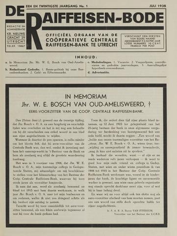 blad 'De Raiffeisen-bode' (CCRB) 1935-07-01