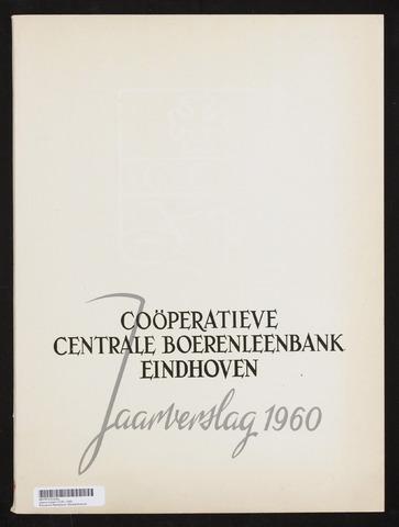 Jaarverslagen Coöperatieve Centrale Boerenleenbank 1960