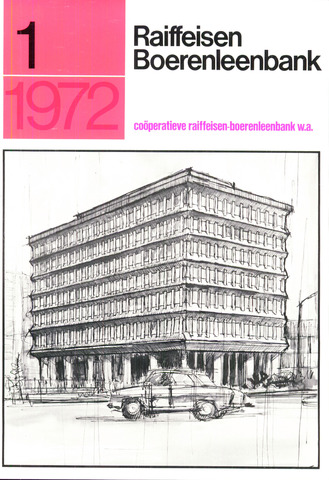 blad 'Raiffeisen Boerenleenbank' 1972-01-01
