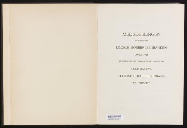 Mededelingen lokale banken CCRB 1928-12-31
