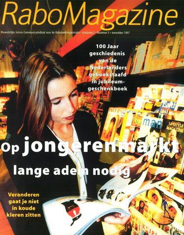 blad 'RaboMagazine' 1997-11-01