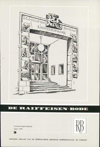 blad 'De Raiffeisen-bode' (CCRB) 1960-03-01