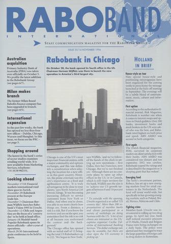 blad 'Raboband International' (EN) 1994-11-14
