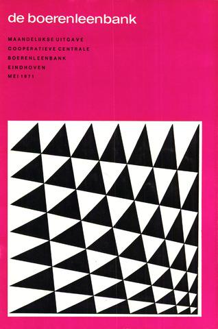 blad 'de boerenleenbank' (CCB) 1971-05-01