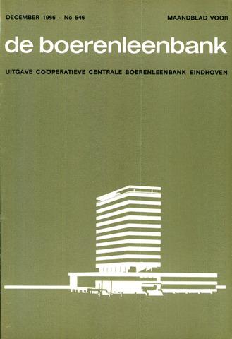 blad 'de boerenleenbank' (CCB) 1966-12-01