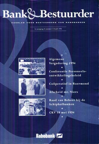 blad 'Bank & Bestuurder' 1994-07-01