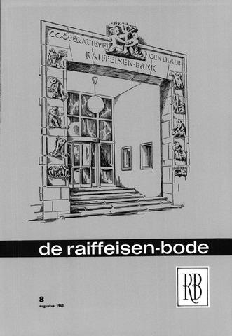 blad 'De Raiffeisen-bode' (CCRB) 1963-08-01