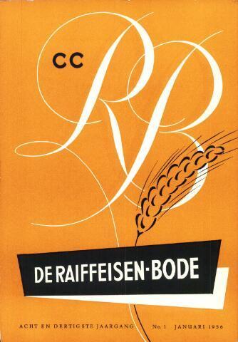 blad 'De Raiffeisen-bode' (CCRB) 1956-01-01
