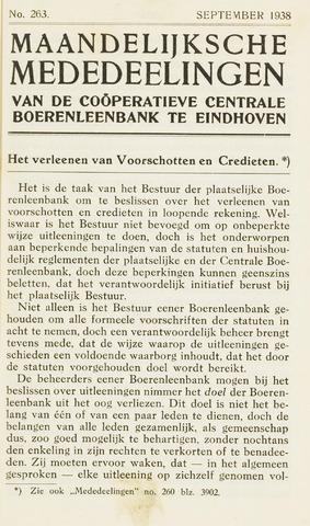 blad 'Maandelijkse Mededelingen' (CCB) 1938-09-01