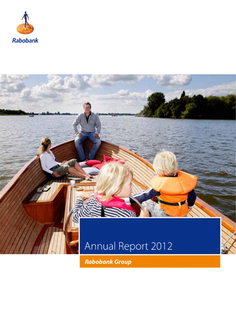 Annual Reports Rabobank 2012