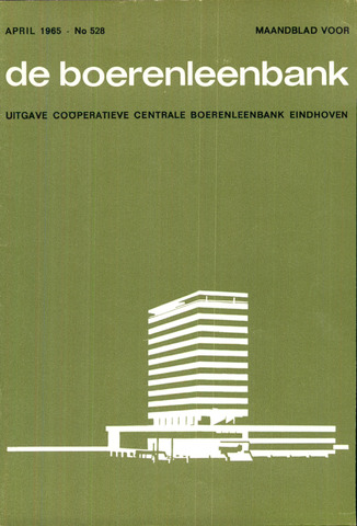 blad 'de boerenleenbank' (CCB) 1965-04-01