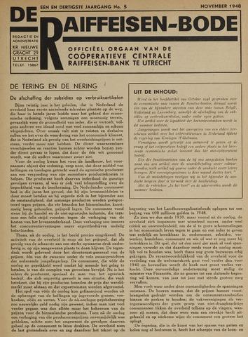 blad 'De Raiffeisen-bode' (CCRB) 1948-11-01
