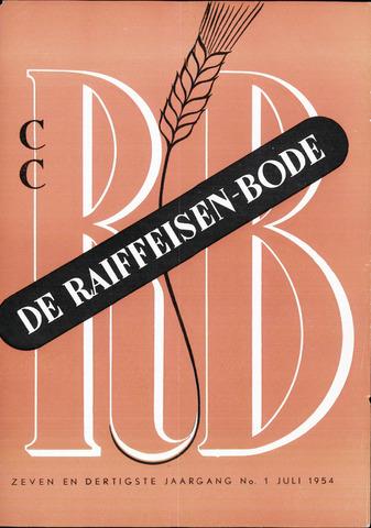 blad 'De Raiffeisen-bode' (CCRB) 1954-07-01