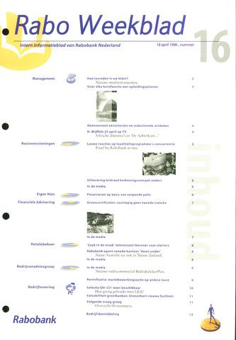 Rabo Weekblad 1996-04-18